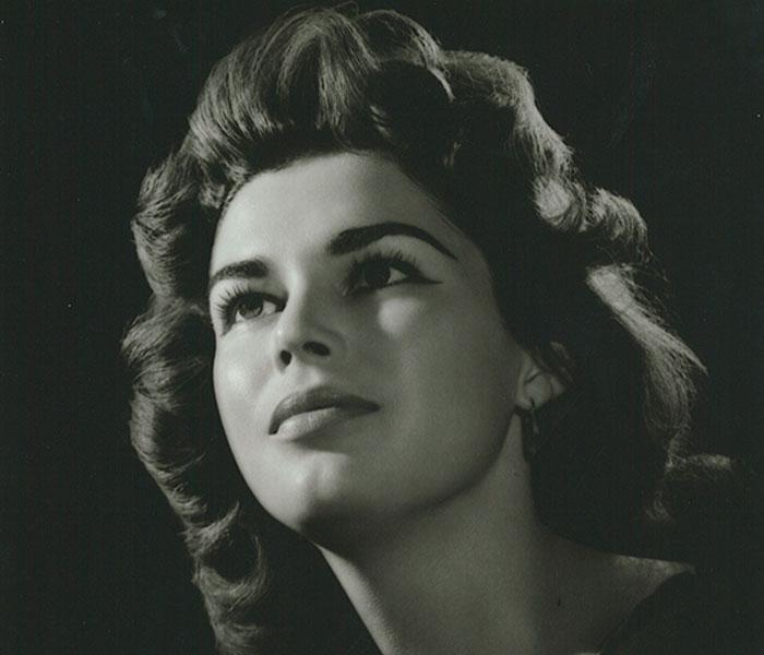 Bertha Zambrano Granja, La Gacela, novia de Anastasio Somoza Debayle.