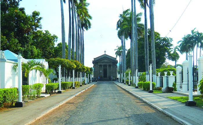El 12 de enero de 1920 la Capilla de las Ánimas en el cementerio de Granada