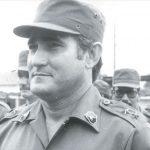 Edén Pastora. comandante de Brigada, viceministro de Defensa y jefe nacional de las Milicias.