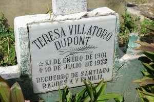 Teresa Villatoro Dupont murió el 19 de julio de 1973. Tenía 72 años. La guerrillera salvadoreña está enterrada en el Cementerio Oriental de Managua, a unas cuadras de la casa en la que vivió durante su vejez.