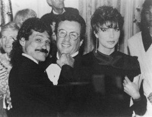 Con Sylvester Stallone