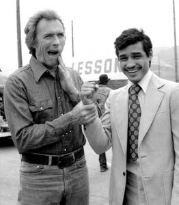 Con Clint Eastwood