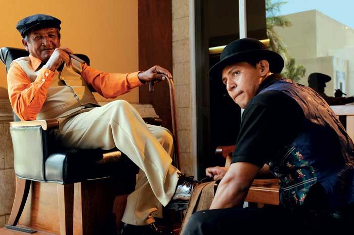 Clodomiro El Ñajo y Daniel Cerna