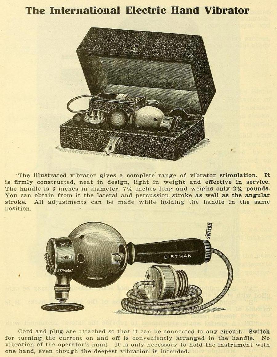 vibrador, historia, medicina