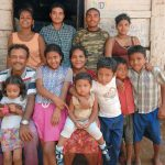 La familia Mena Gudamuz