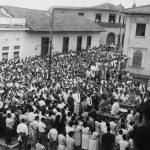 Los estudiantes y el pueblo de León se reunieron el día después de la masacre del 23 de julio