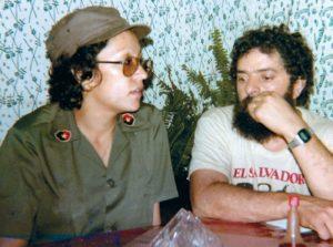 Baltodano y Lula en un comedor popular de Managua. Magazine/La Prensa/Cortesía